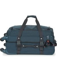 Kipling Cyrah M Soft Suitcase - Blue