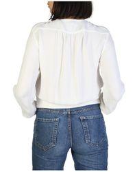 Armani Jeans Chaqueta - 3Y5B54_5NYFZ - Blanco