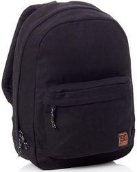 DC Shoes Black Backstack Canvas - 18.5 Litre Backpack - Default Backpack