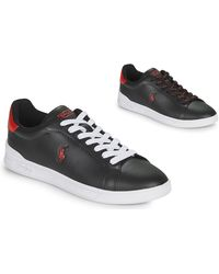 Polo Ralph Lauren HRT CT II-SNEAKERS-ATHLETIC SHOE Chaussures - Noir