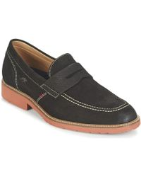 Fluchos - Cardinal Men's Loafers / Casual Shoes In Black - Lyst