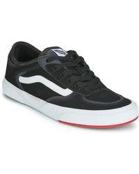 Vans Lage Sneakers Rowley Classic - Zwart