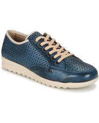 Pitillos - Gramel Women's Shoes (trainers) In Blue - Lyst