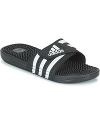 adidas Teenslippers Adissage - Zwart