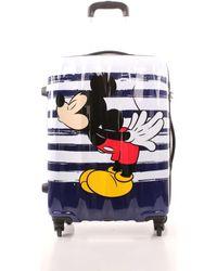 American Tourister 19c022007 Middle Suitcases Hard Suitcase - Multicolour