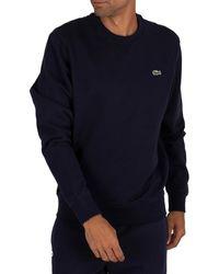 Lacoste Sweat-Shirt Homme - Bleu