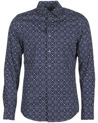 G-Star RAW Overhemden Core Super Slim Shirt - Blauw