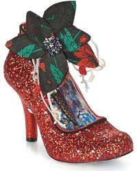 Irregular Choice Pumps Sweet Melody - Rood