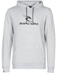 Rip Curl Sweater Surf Co. Hooded Pop Over Fleec - Grijs