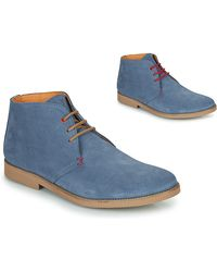So Size Boots - Bleu