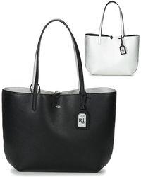72d196bfe11 Lauren by Ralph Lauren - Milford Olivia Tote Women s Shopper Bag In Black -  Lyst