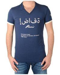 Hechbone Paris T-shirt - Bleu