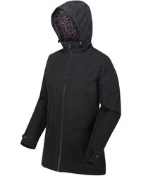Regatta Bergonia Ii Waterproof Insulated Hooded Jacket Black Coat