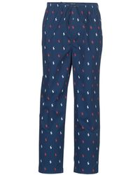 Polo Ralph Lauren PJ PANT-PANT-SLEEP BOTTOM Jogging - Bleu