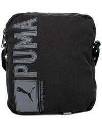 5e4640aff620 PUMA - Pioneer Portable Men s Messenger Bag In Black - Lyst
