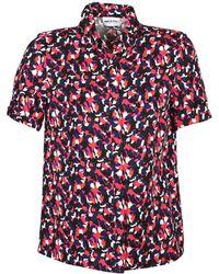 American Retro - Neoshirt Women's Short Sleeved Shirt In Multicolour - Lyst