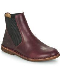 Kickers Boots - Marron