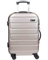 Słoń Torbalski 040511k15 Hard Suitcase - Gray