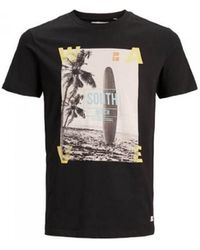Produkt T-SHIRT MANCHES COURTES POUR HOMME 12170733 T-shirt - Noir