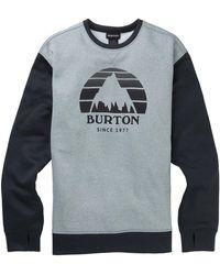 Burton Sweater Men's Oak Crew - Grijs