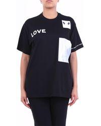 Burberry T-shirt Korte Mouw 8030765 - Zwart