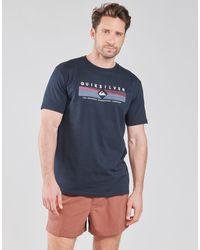 Quiksilver DISTANT FORTUNE SS T-shirt - Bleu