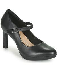 Clarks Zapatos de tacón AMBYR SHINE - Negro