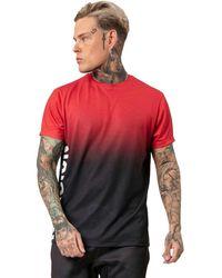 Religion - Camiseta Gradient para hombre Roja/Negra - Lyst