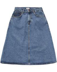 Pepe Jeans Jupes PL900900 - Bleu