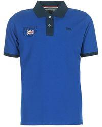 Lonsdale London - Capton Men's Polo Shirt In Blue - Lyst