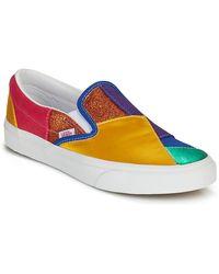 Vans CLASSIC SLIP ON Chaussures - Bleu