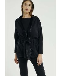 Max & Moi - Coat Nicky Black Woman Autumn/winter Collection Women's Coat In Black - Lyst