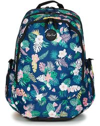 Rip Curl - Trischool Flora Girls's Children's Backpack In Blue - Lyst