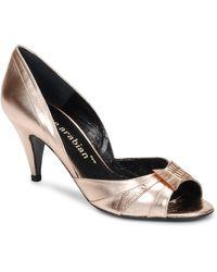 Karine Arabian MONTEREY femmes Chaussures escarpins en Doré - Métallisé