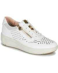 Stonefly Lage Sneakers Rock 10 - Wit
