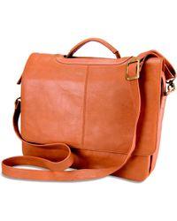 Visconti - - Women's Messenger Bag In Brown - Lyst