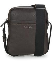 Calvin Klein Borsa Shopping Warmth Reporter S - Marrone