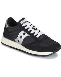 Saucony Lage Sneakers Jazz Original Vintage - Zwart
