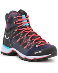 Salewa Zapatillas de senderismo WS Mtn Trainer Lite Mid Gtx - Azul