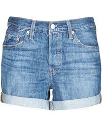 Levi's Korte Broek Levis 501® Short Long - Blauw