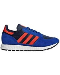 adidas - Forest Groove Men's Shoes (trainers) In Blue - Lyst