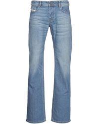 DIESEL Bootcut Jeans Zatiny - Blauw