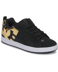 DC Shoes Lage Sneakers Court Graffik - Zwart