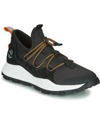 Timberland Lage Sneakers Brooklyn L/f Super Oxford - Zwart