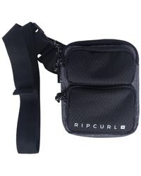 Rip Curl - 24/7 Pouch Midnight Bsbdf1 Men's Shoulder Bag In Black - Lyst