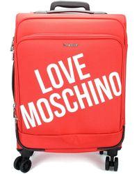 Love Moschino Maleta flexible JC5100PP1B - Rojo