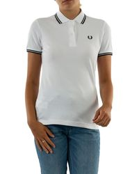 Fred Perry G3600 200 white Polo - Blanc