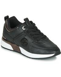 Guess Lage Sneakers Fl5myn-fal12-black - Zwart