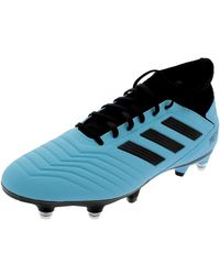 adidas PREDATOR 19.3 SG SCARPINI CELESTI - Blu