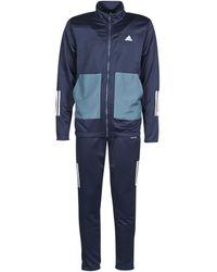 adidas Trainingspak Mts Fabric Mix - Blauw